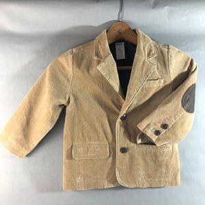 Gymboree Boys Corduroy Jacket Tan Size 3 Blazer